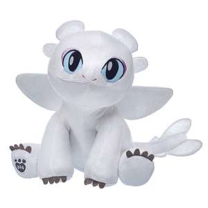 How To Train Your Dragon Light Fury Plush £16.87 Delivered using code @ Build-A-Bear