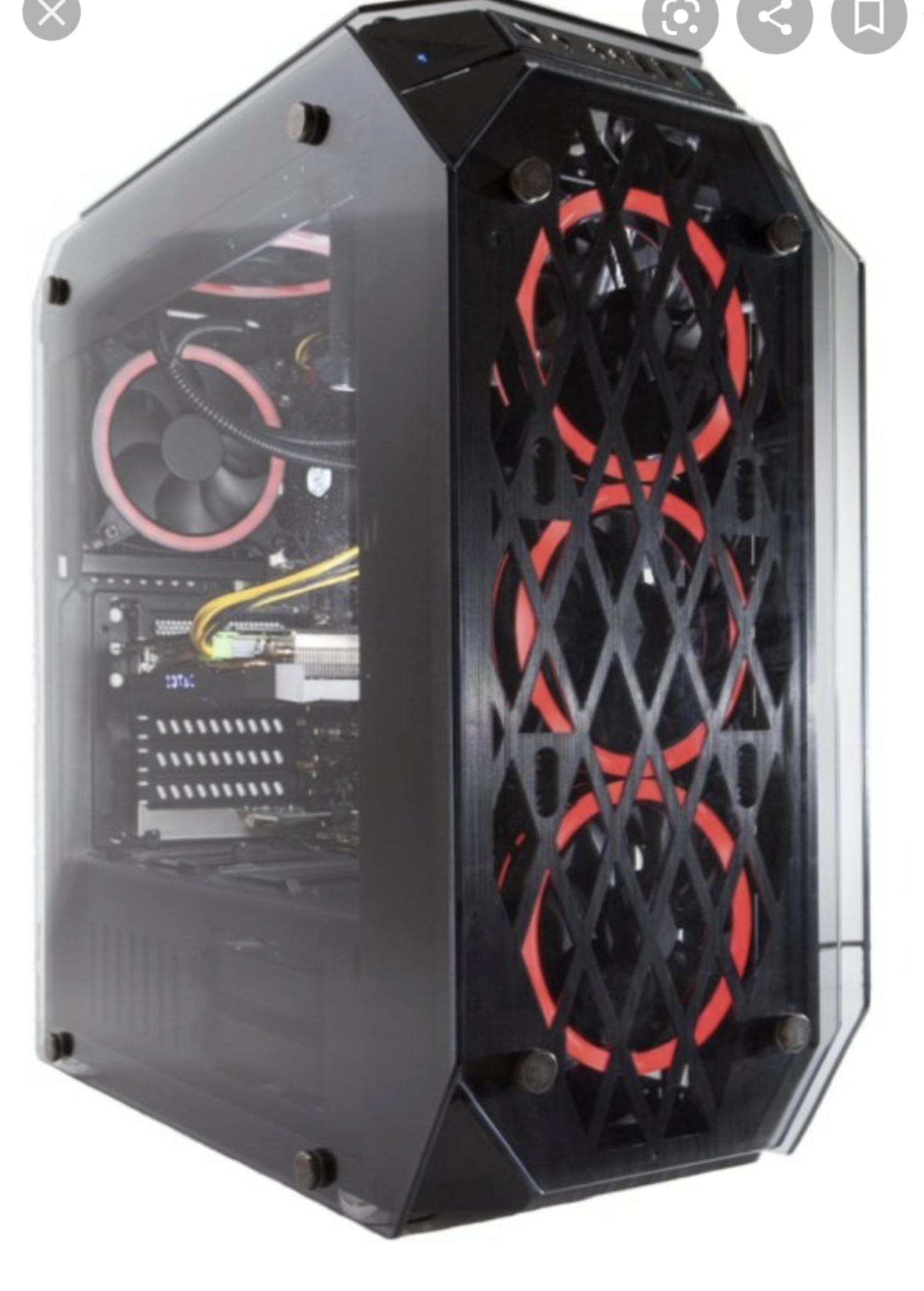Ryzen 7 3700x / GTX 3060Ti / 16GB RAM Gaming PC £1285 @ Punch Technology