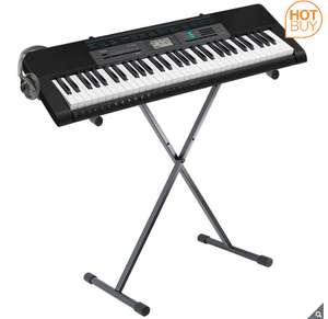 Casio CTK-2550AD, Keyboard in Black with Stand and headphones £89.89 at Costco
