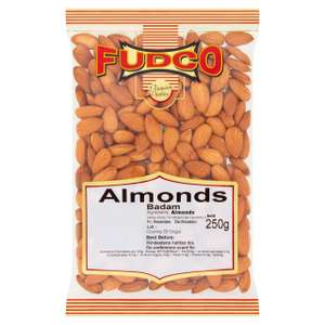 Fudco Almonds 250g - £1.75 (Min Spend / Delivery Fee Applies) @ Morrisons