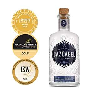 Cazcabel Blanco Tequila - perfect for National Margarita Day. 700ml - £20.84 @ Amazon