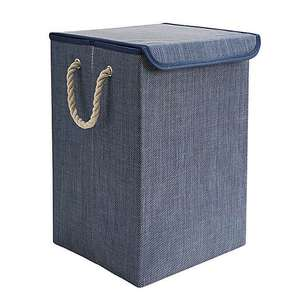 Collapsible Blue Laundry Basket Collapsible Blue Laundry Basket Now £5.00 with £3.95 From Dunelm