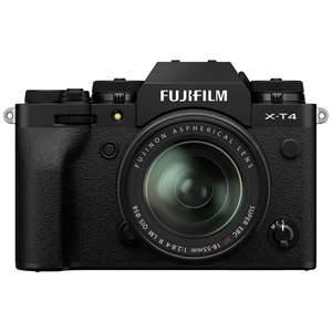 FUJIFILM X-T4 Mirrorless Camera With XF 18-55MM F/2.8-4 LENS KIT Black £1,799 at Park Cameras