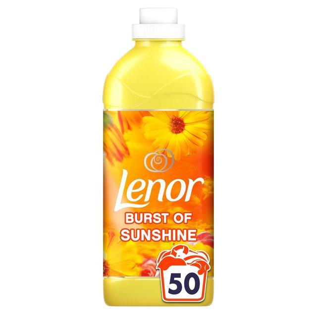 Lenor burst of sunshine/gold orchid/ruby jasmine 50 washes Asda