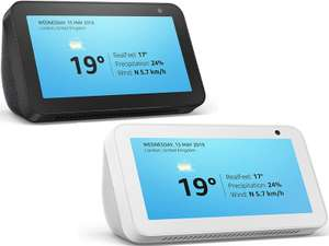 Echo Show 5 –Stay in touch with the help of Alexa (Black or White) - £39.99 Delivered @ Amazon