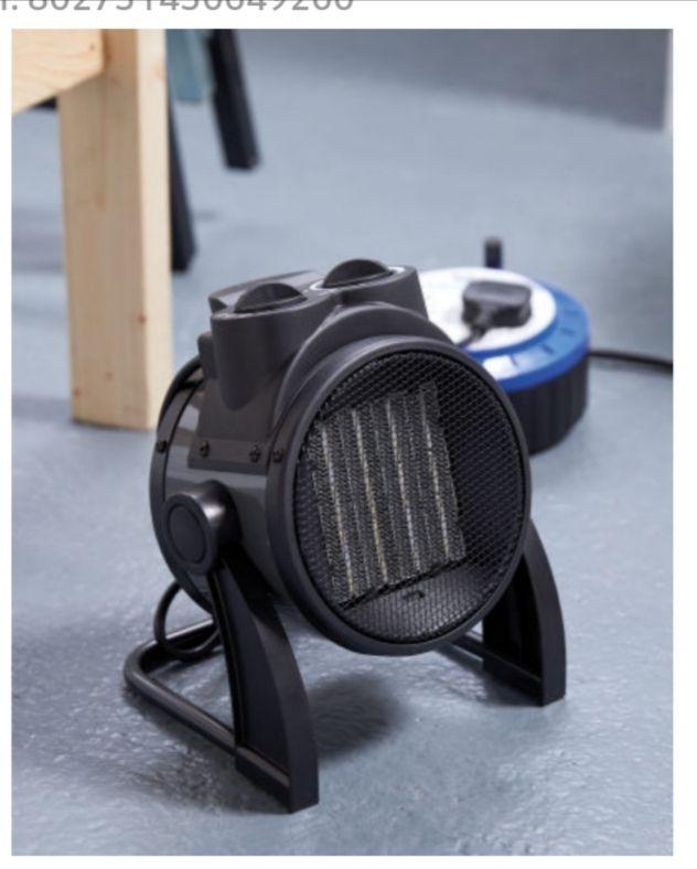 Ferrex Electric Fan Heater £24.99 + £2.95 del 3 year Warranty @ Aldi