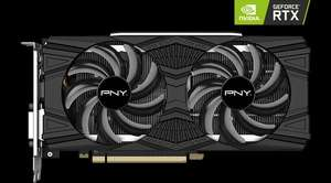 PNY NVIDIA GeForce RTX 2060 Dual Fan 6GB GDDR6 Ray-Tracing Graphics Card £365.47 delivered @ Scan