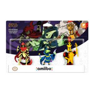 Shovel Knight Amiibo Triple Pack £24.99 delivered @ Nintendo UK Store
