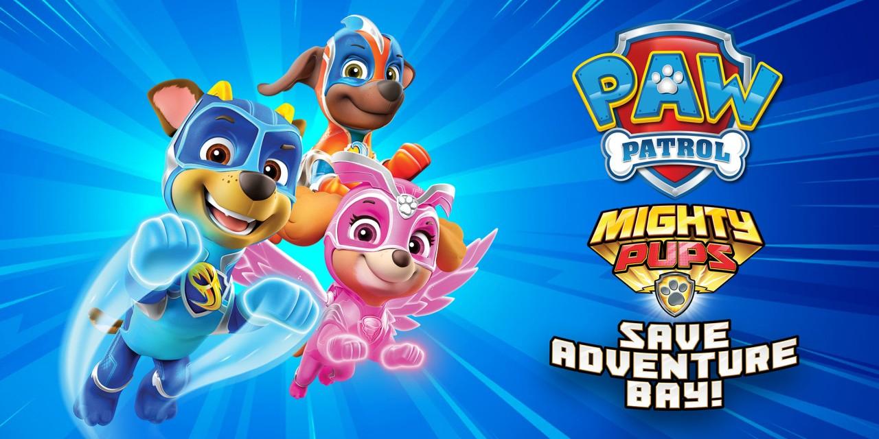 Paw Patrol: Mighty Pups Save Adventure Bay! (Nintendo Switch) - £24.49 @ Nintendo eShop