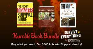 Humble Book Bundle: Survive Everything By Skyhorse - 73p @ Humble Bundle