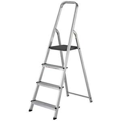 Werner High Handrail 4 Tread Aluminium Stepladder £20 + £7.95 delivery @ Wickes