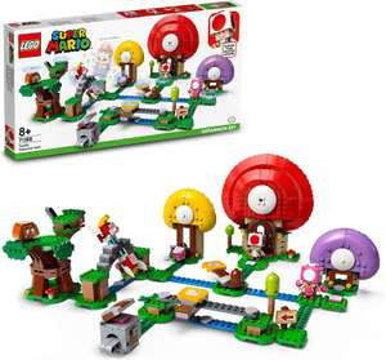 LEGO Super Mario 71368 Toads Treasure Hunt £44.99 delivered + free Nintendo Switch Carry Case @ Smyths