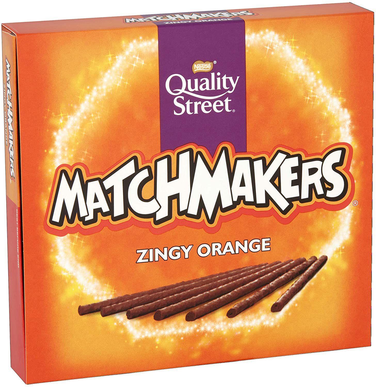 Quality Street Matchmakers Zingy Orange Chocolates, 120g £1 (£4.49 p&p non prime) 85p/95p s&s @ Amazon
