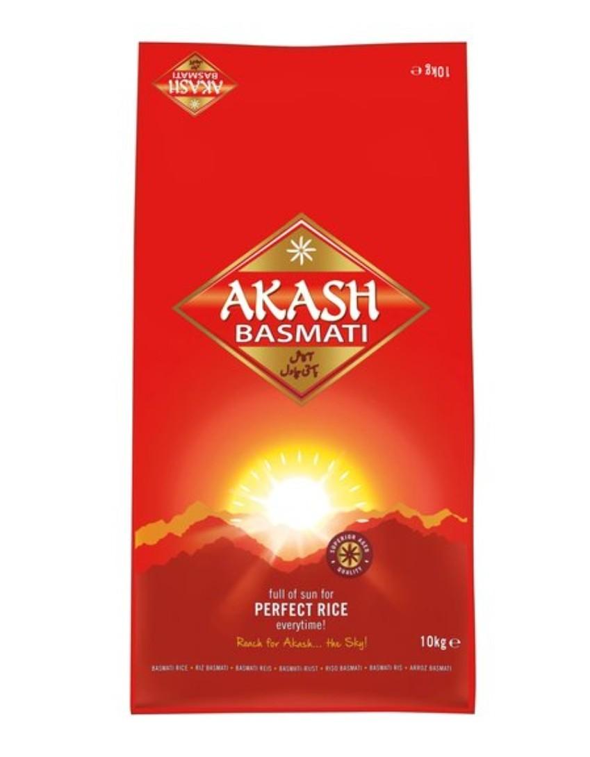Akash Basmati Rice 10Kg Clubcard price £12 (+Min Basket / Delivery Charge) @ Tesco