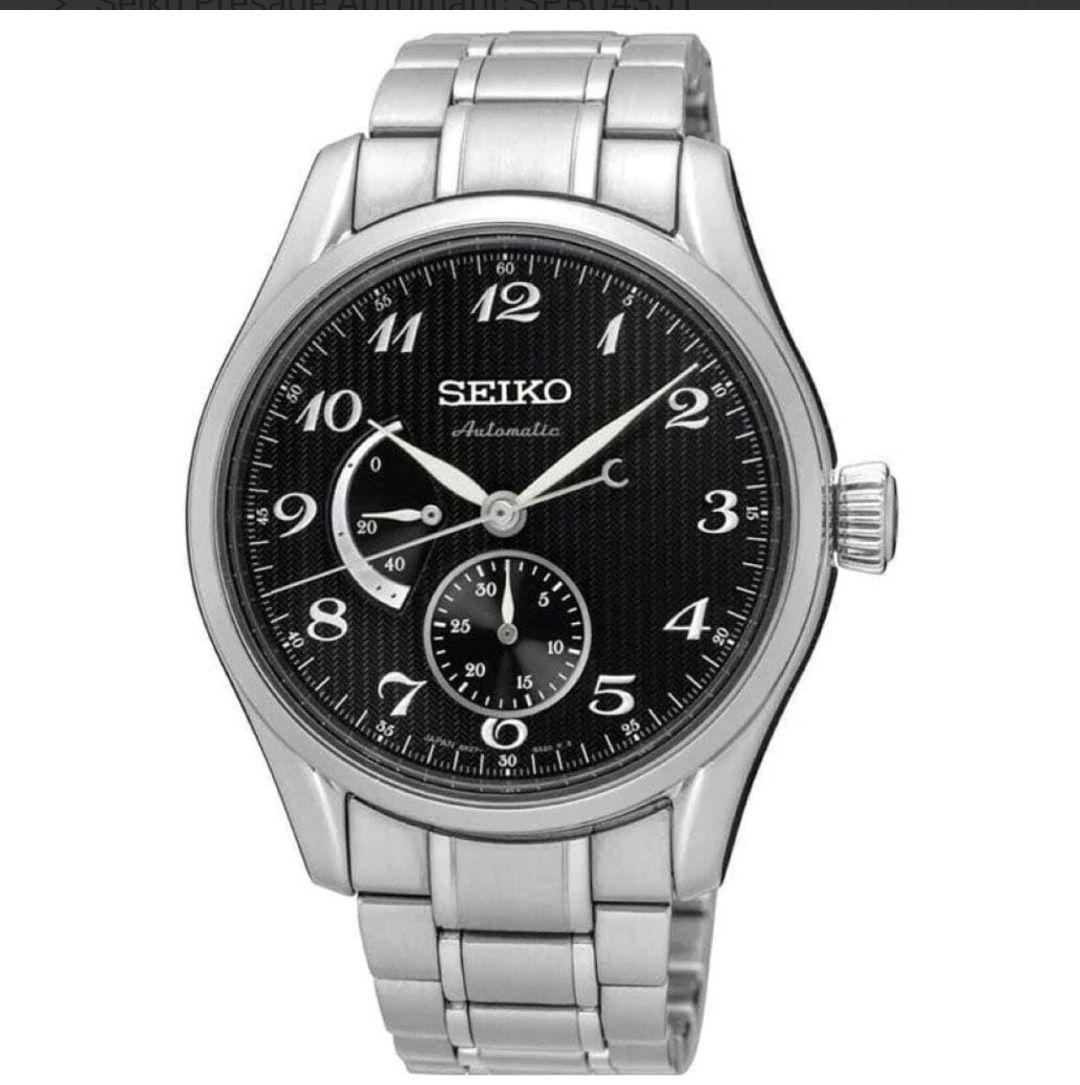 Seiko Presage Automatic Watch Power Reserve SPB043J1 - £466 at T Paterson Jewellers