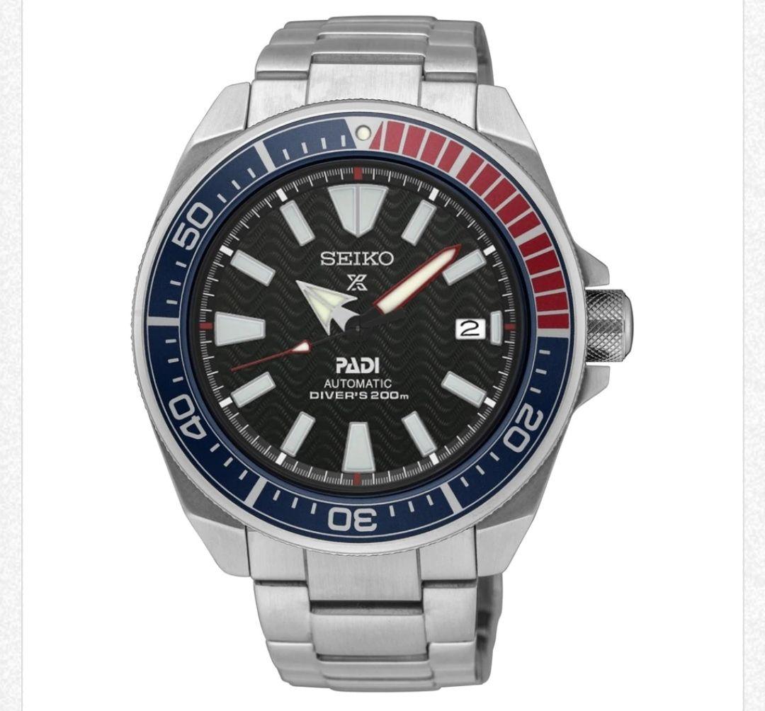 Seiko Prospex PADI Samurai Divers watch Automatic SRPB99K1 £335 at T Paterson Jewellers