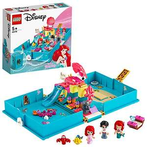 LEGO Disney 43176 Princess Ariel's Storybook Adventures Playset £14.04 Prime/ + £4.49 non Prime (UK Mainland) Amazon EU