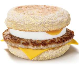 Free McMuffin with any McCafé hot drink on the McDonald's app between 05:00 and 10:59hrs (Selected Accounts) - £0.89 @ McDonald's