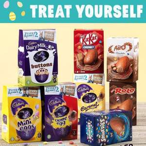 Various medium sized Easter eggs 75p (buttons, kitkat, creme egg and more) @ Jack's Supermarket