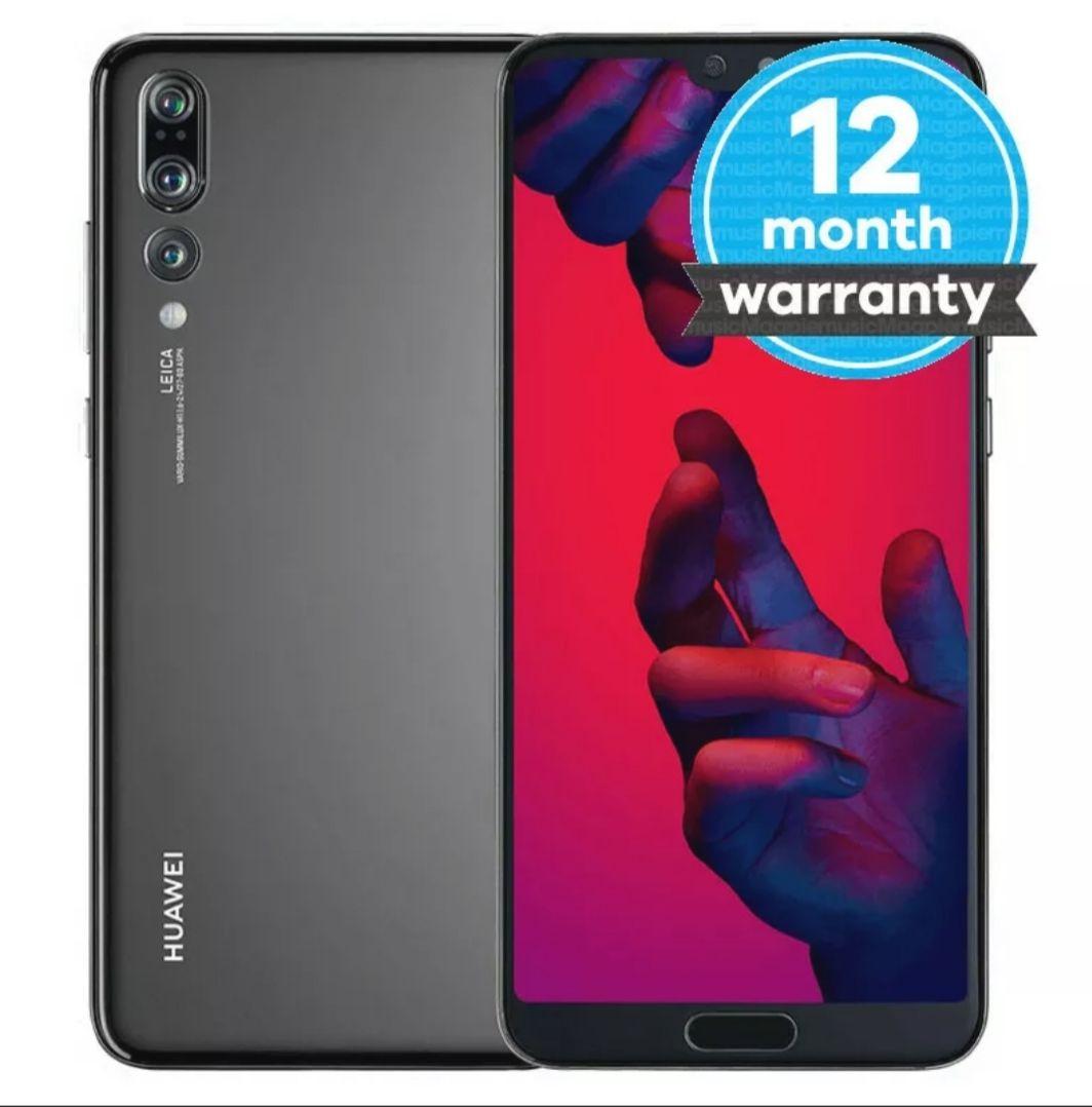 Refurbished Huawei P20 Pro 128GB - SIM Free Smartphone - Various Colours Very Good, Black, EE, 128 GB £139.40 @ Music magpie eBay