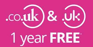 LCN 2 Free .co.uk domains for 1 year