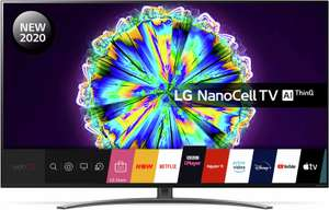 LG 49 Inch 49NANO86 Smart 4K UHD HDR LED Freeview TV £579 + £3.95 delivery at Argos