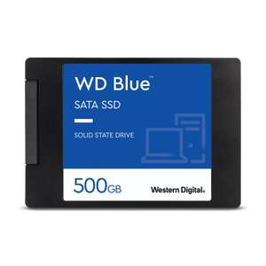 500GB WD Blue 3D NAND Internal SSD 2.5 Inch SATA, £47.99 at WD Shop (with code)