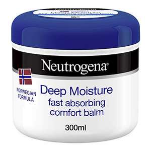 Neutrogena Deep Moisture Fast Absorbing Balm 300ml £1.50 Prime (+£4.49 non Prime) @ Amazon