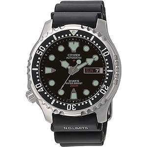 Citizen Automatic Gents' 200 Metre Diver Watch NY0040-09EE - £149 at Amazon