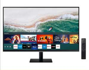 """Samsung 32"""" M70A Smart 4K Monitor with built-in apps £359.10 @ Samsung Only through unidays or Blue Light"""
