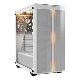 Be Quiet! Pure Base 500DX Mid Tower Case Tempered Glass-White, £75.70 at Box