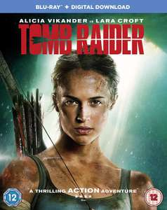 Tomb Raider [Blu-ray] [2018] - £2.75 Prime / +£2.99 non Prime @ Amazon