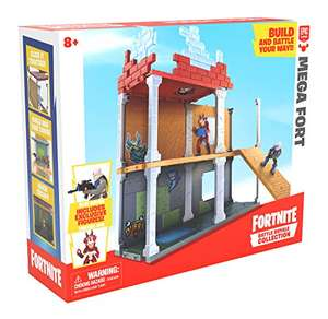 Fortnite Battle Royale Collection Mega Fort and 2 Exclusive Figures Tricera Ops and Blue Squire £16.99 (Prime) + £4.49 (non Prime) at Amazon
