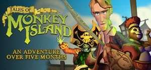 [Steam] Humble Tales Of Love & Adventure Bundle E.G. Tales Of Monkey Island Complete Pack - 71p @ Humble Bundle