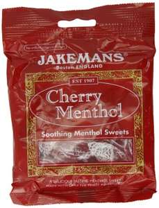 Jakemans Cherry Bags 100g (Pack of 10) £5 / £4.75 S&S (Prime) + £4.49 (non Prime) at Amazon