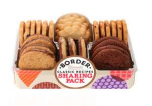 Border Sharing Pack 400g - £2.25 (Min Spend / Delivery Fee Applies) @ Asda