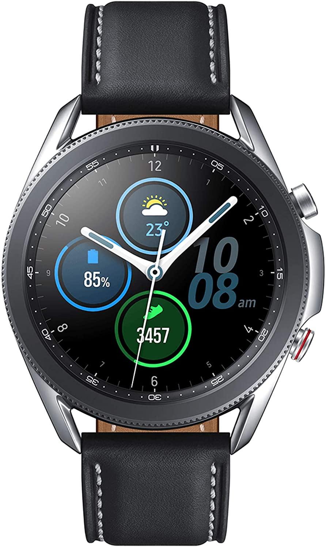 Samsung Galaxy Watch3 4G Stainless Steel 41 mm Smart Watch Mystic Silver (UK Version) - £297.80 @ Amazon
