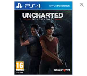 PLAYSTATION 4 Uncharted: The Lost Legacy £12.99 delivered @ Currys