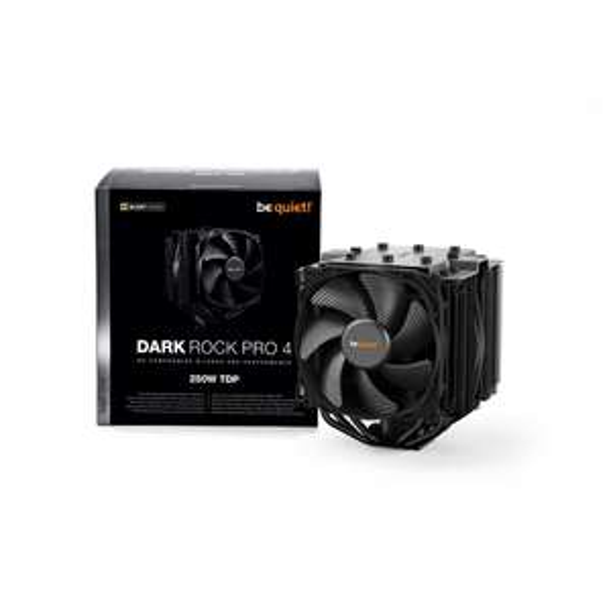 Be Quiet! Dark Rock Pro 4 CPU Air Tower Cooler £72.72 at CCLOnline