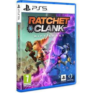 Ratchet & Clank Rift Apart PS5 Exclusive includes preorder DLC £60.99 365games.co.uk