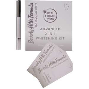 Beverly Hills professional 2 in 1 Teeth whitening kit £14 Delivered @ lloyds pharmacy