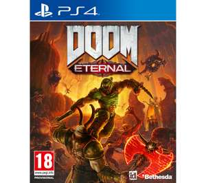 DOOM Eternal PS4/XBOX £13.97 at Currys PC World