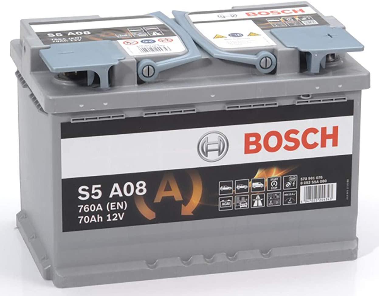 Bosch S5 A08 car battery AGM Stop Start - £115.86 @ Amazon / Amazon EU (Mainland UK)