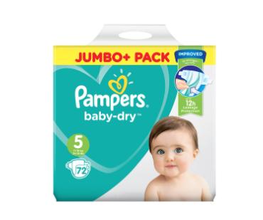 Pampers Jumbo packs £5 - Waitrose & partners Basingstoke