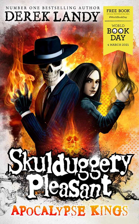 Apocalypse Kings (Skulduggery Pleasant) Paperback - World Book Day £1 prime / £3.99 nonPrime at Amazon