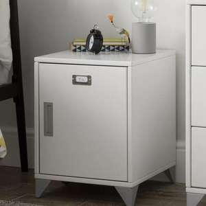 Argos Home Loft Locker White Bedside Cabinet - £35.99 / £39.94 Delivered @ Argos