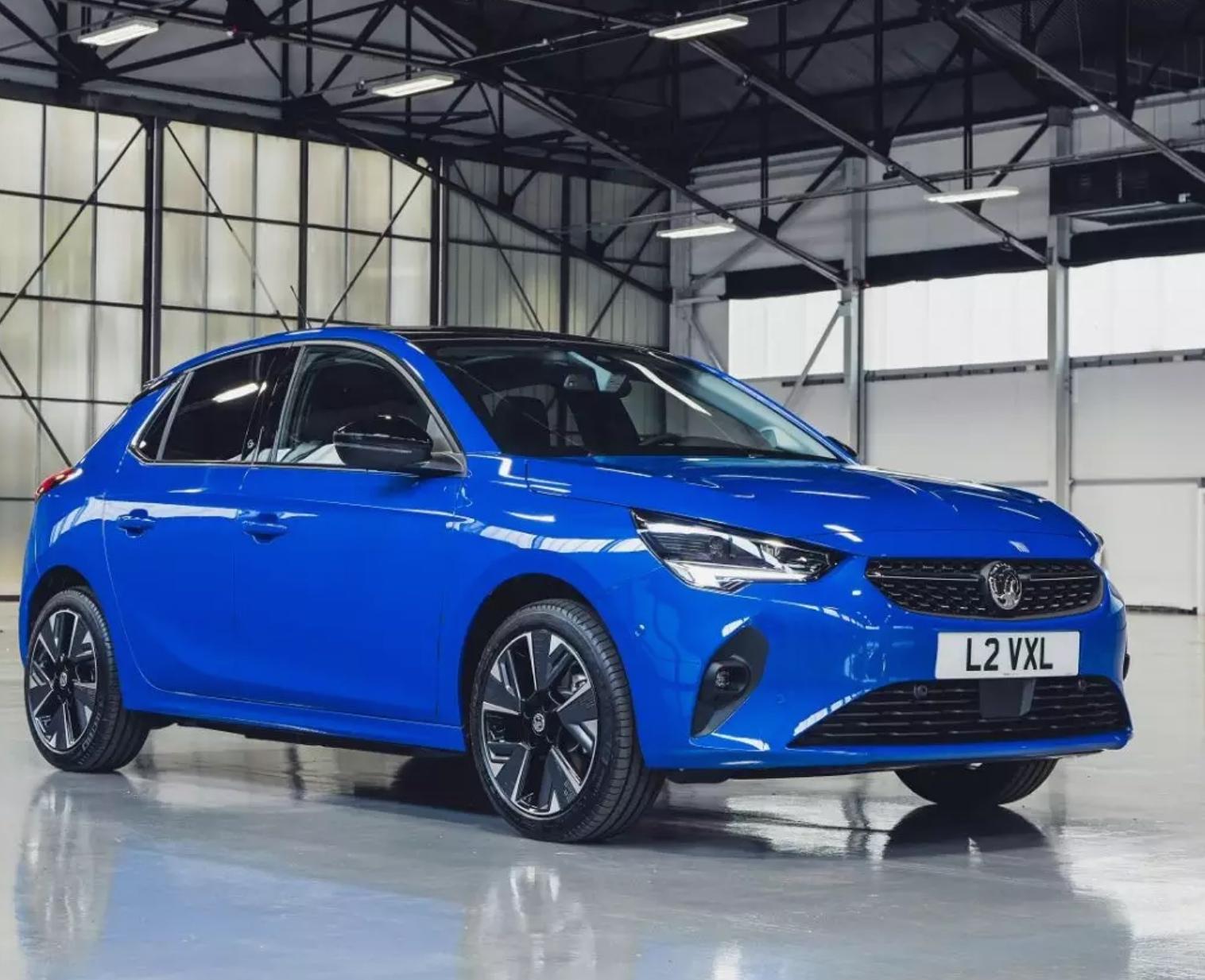 24 month Lease (1+23) - Vauxhall Corsa E Electric Hatchback 100kW Elite Nav - 10k miles p/a - £251pm + £198 admin = £6219 @ Express Vehicle
