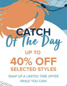 Weird Fish Flash Sale 40% of certain lines plus an extra 20% - Delivery £2.50 free over £20