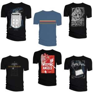 Selected Doctor Who T-Shirts - £5.99 Each Delivered @ Forbidden Planet
