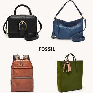 70% Off selected Men & Women's Bags, Wallets & Purses using code + Free UK Mainland Delivery @ Fossil